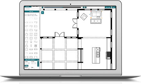 Interactive floor plans alpha vision for Online room planner