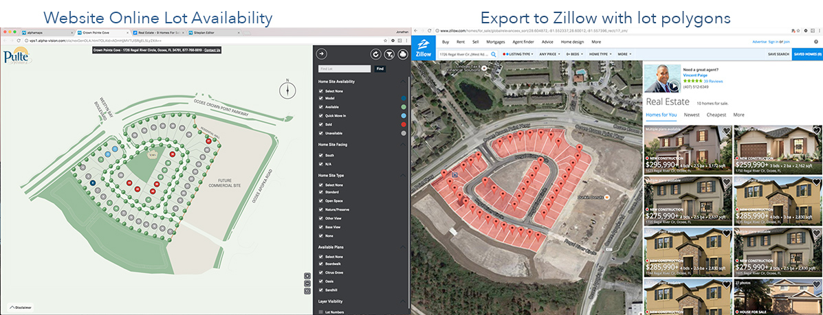 alphamaps with Zillow export