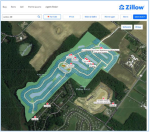 Maps are outdated and often show undeveloped sites. A community with ICP-enabled prominently stands out!