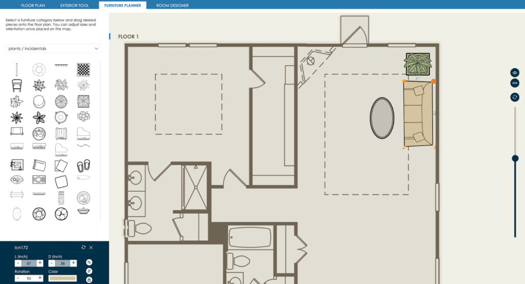 Interactive floor plans can help you qualify leads faster.